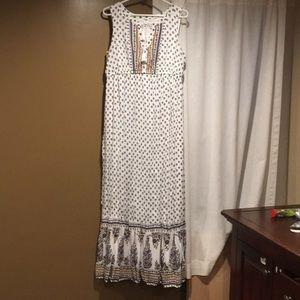 Old navy maxi dress sz large